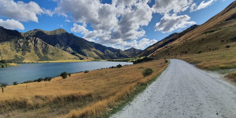 Drive into Moke Lake from Queenstown - Copyright Freewalks NZ