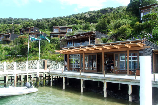 Queen Charlotte Track - Point 20 - Arriving at Bay of Many Coves - Copyright Freewalks.nz