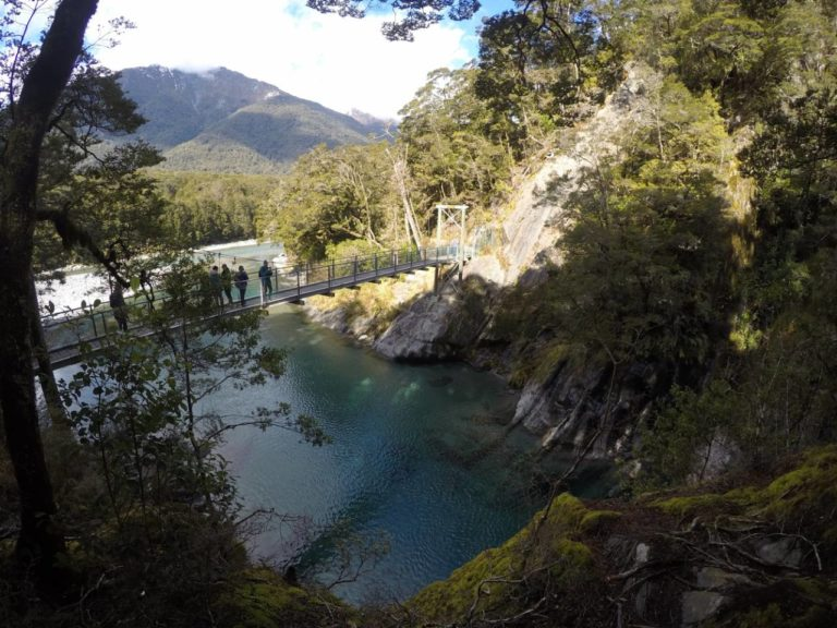 The Blue Pools Track