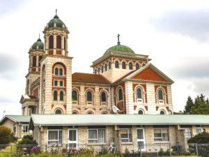 Free Central Timaru Historic Walk - South Island - New Zealand - View Roman catholic basilica of Sacred Heart